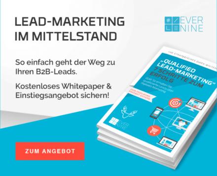 Lead Marketing im Mittelstand - Evernine Group
