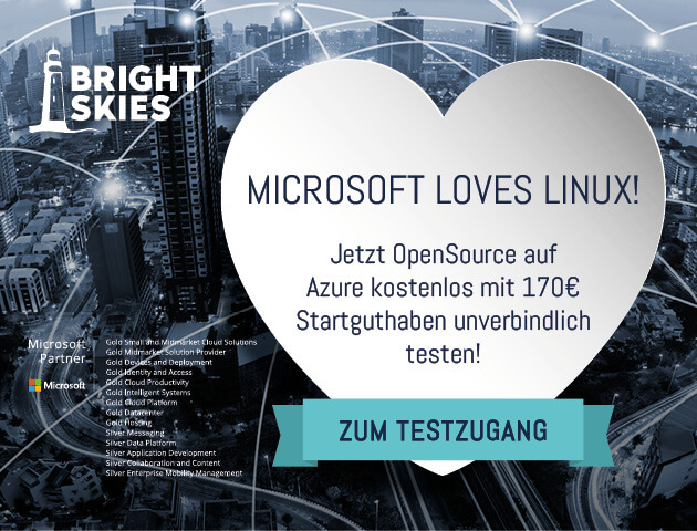 OpenSource on Microsoft Azure: So you pay for your cloud IT
