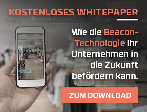 Im kostenlosen Whitepaper von Challtell erfahren Sie, wie Sie mit Beacon Technologien Ihre Probleme lösen können.