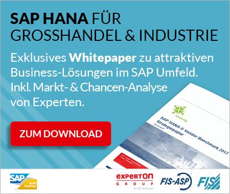 SAP Hana mit der FIS Gruppe.