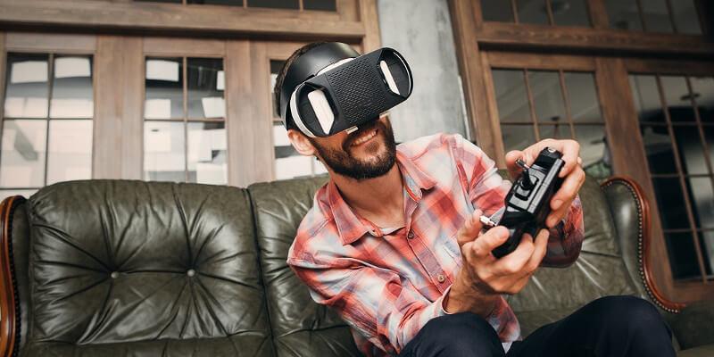 Virtual reality gaming drives business applications