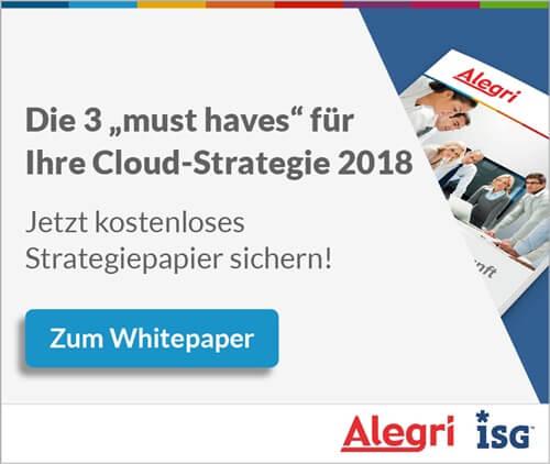 Alegri / ISG Whitepaper
