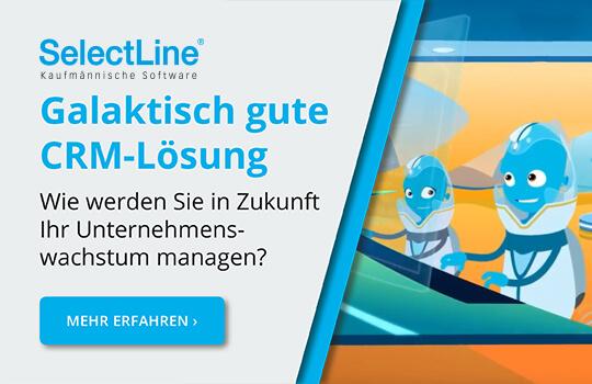 Das neue SelectLine CRM