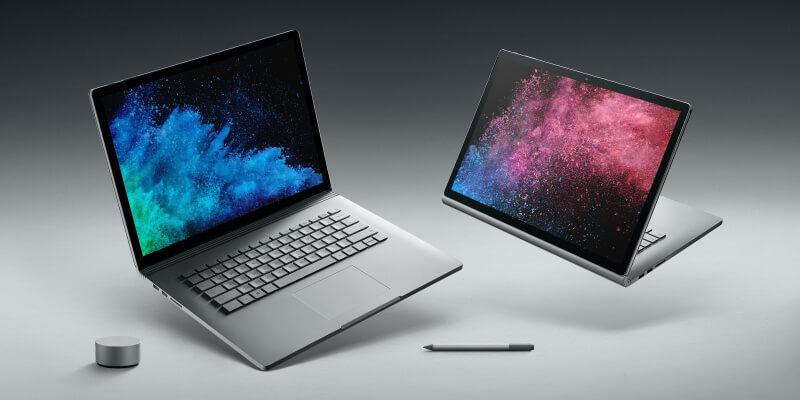 Das neue Surface Book 2 von Microsoft.