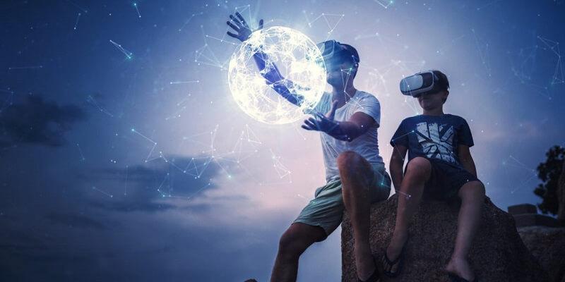 Mit virtueller Realität in eine neue Zukunft.