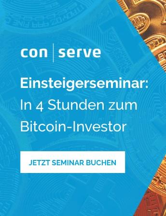 20 % Rabatt auf Bitcoin Seminar.